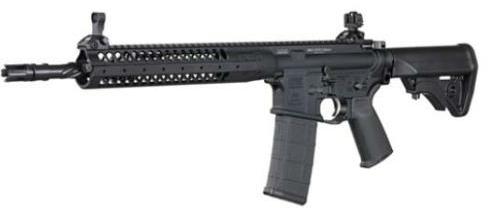 "Rifle LWRC Rifle IC-SPR 5.56 Black PIST 14.7 CA CALIFORNIA COMPLIANT 223 Rem | 5.56 NATO Barrel 16.12"""