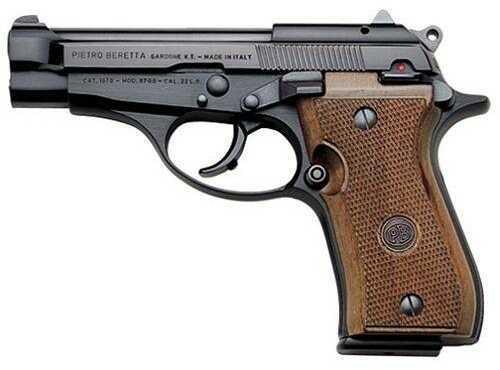 Beretta J87B210 87 CHEETAH 22LR  Pistol  7 Round   Black Finish  Wood Grip   Blade Front Sight