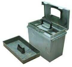 "MTM Sportsmen's Plus Utility Dry Box O-Ring Sealed 15x8.8x13"" Wild Camo SPUD2-09"