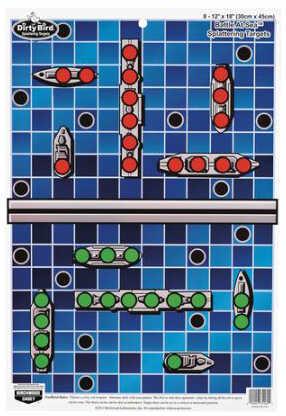 "Birchwood Casey Pregame Targets Battle at Sea 12"" x 18"" Target (Per 100) 35581"