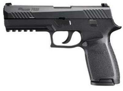"Sig Sauer P320 Full Size Pistol DAO 40 S&W 4.7"" Barrel Polymer Frame Nitron Finish 10 Rounds"