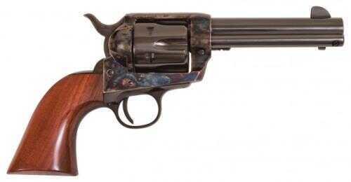 "Cimarron SA Frontier Pre-War Revolver 44-40 Winchester 4.75"" Barrel Case Hardened Frame Pre-War Walnut Grip Standard Blued Finish PP420"