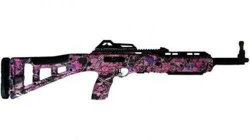 """Hi-Point 380TS Carbine Tactical Rifle 380 ACP 16.5"""" Barrel  Pink Camo Semi-Automatic  3895TSPI"""