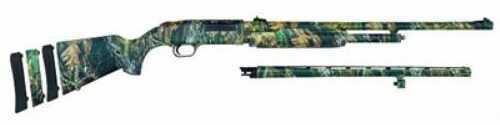"Mossberg 500 Pump Action Shotgun Super Bantam  20 Gauge  22"" Vented Shotgun Barrel /24"" Rifled Barrel  Synthetic Stock  MONBU 54141"