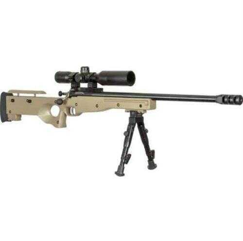 "Crickett Precision Rifle 22 Long Rifle Blued/Flat Dark Earth Camo Threaded Barrel With Scope 16.50"" Barrel"
