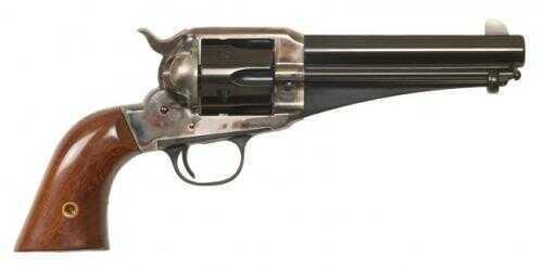 "Cimarron 1875 .45 Colt Revolver 5.5"" Barrel Case Hardened 1-Piece Walnut Standard Blue Finish CA166"