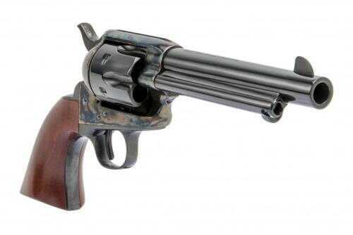 """Cimarron1873 Sa Revolver Old Model P 45 Colt 5 ½"""" Barrel Case Hardened Frame"""