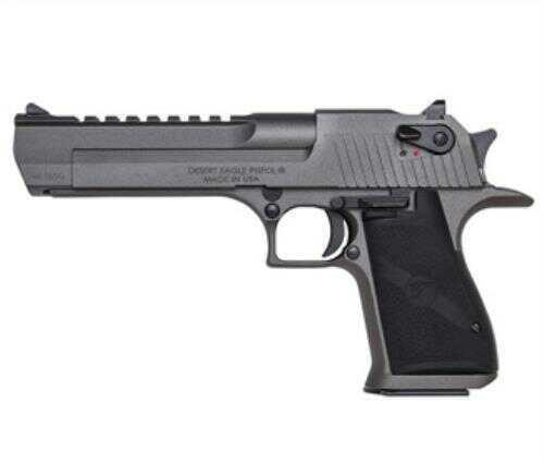 "Magnum Research Desert Eagle 44 Magnum Tungsten  Single Action 6"" Carbon Steel Barrel 8 Round  Semi Automatic Pistol"
