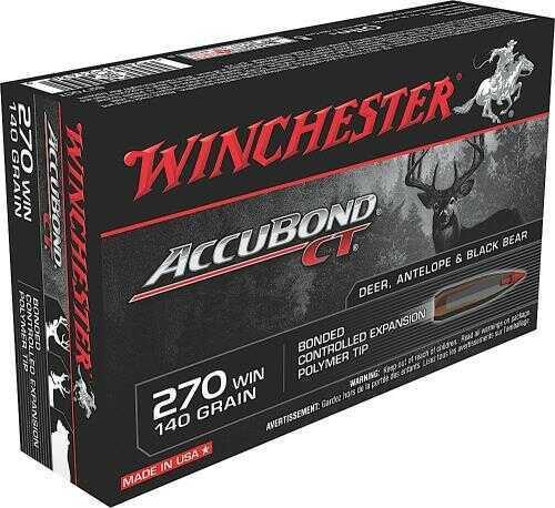 Winchester 270 Winchester 140 Gr. AccuBond CT (Per 20) S270CT