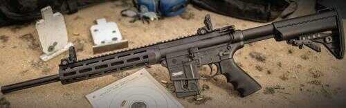 "Smith & Wesson Rifle Smith and Wesson Rifle MP15-22 PC SPRT 22LR CT/MA/NJ 11507 CTNJMA COMPLIANT 22 LR Barrel 18"""