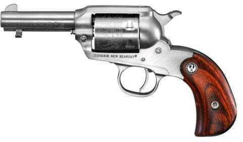 """Ruger Revolver  Bearcat Shopkeeper 22 Long Rifle   3"""" Barrel  Stainless Steel  BIRDSHEAD GRIPFRAME   0915"""