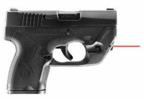 "Pistol Beretta JMN9SLMR Nano 9mm 3.07"" Barrel 3Dot Lasermax Matte Black Polymer"