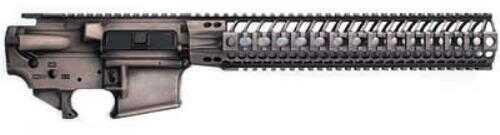 "Lower Reveiver Spike's Tactical Spider Lower/Upper Set 223 Rem/556NATO Sandbox Finish 12"" BAR Rail"