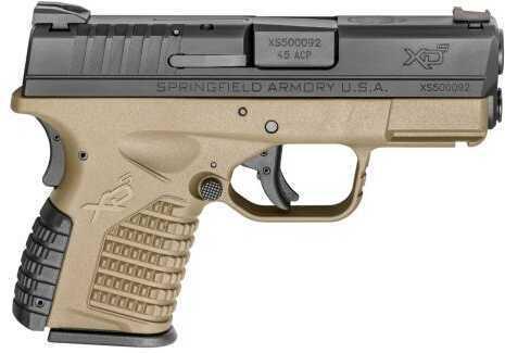 "Springfield Armory Pistol 45 ACP 3.3"" Barrel Flat Dark Earth"