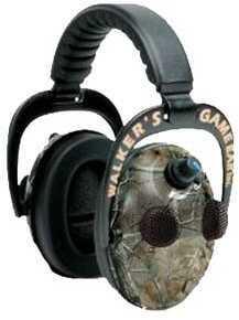 Walker's Game Ear / GSM Outdoors Walker Game Ear Elite Power Muff Quads, Realtree HD Green GWP-EPMQRT