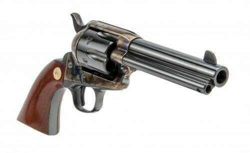 "Cimarron Model P Pre War Single Action Revolver 44-40 Winchester 4.75"" Barrel Case Hardened Frame"