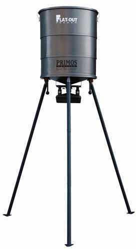 Primos FlatOut Feeder with TriPod Spinner Feeder 65020