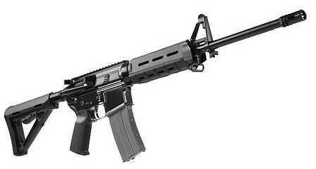 """Rifle AR-15 5.56mm NATO Del-Ton Echo Series 316/MOE 16""""' Adjustable Stock, Black, 30 Round RFTH16-MOE"""
