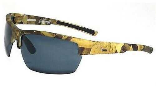 Coleman Raptor-Green Camouflage Half Frame w/Smoke Lens Sunglasses C6050 C1