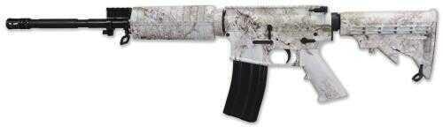"Windham Weaponry Rifle Windham Weaponry Kings Snow Camo SRC 223 Remington 30 Round 16"" Barrel Semi Automatic Rifle"