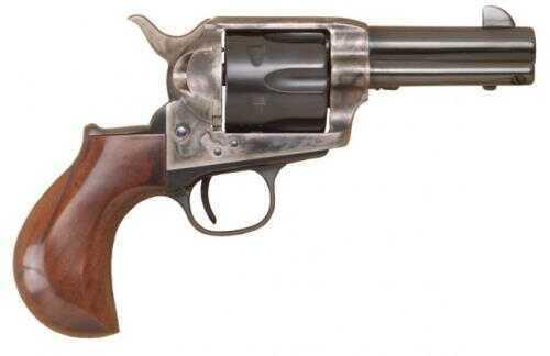 """Cimarron Thunderer Revolver 45 Colt/ 45ACP Dual Cylinder 3-1/2"""" Barrel Case Hardened Frame 1-Piece Walnut Smooth Grip Standard Blue"""
