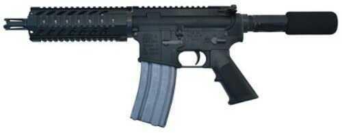 "Inter Ordnance M215 Micro QR-7 Semi-Automatic Pistol 5.56mm NATO 7"" Barrel Aluminum Frame Black Finish"