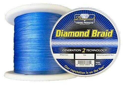 Momoi / Hi-Liner Line Diamond Braid Blue 2500yds 80lb fishing line 6-95699-60180-7