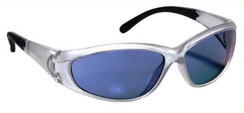 Peltor Blue Mirror Lenses, Silver Frame 90983-00002T
