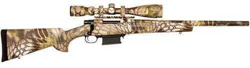 "Escort Rifle Howa 308 Win HB Kryptek Highlander 20"" Barrel 5 Rounds Mag with 4-16x44mm Scope"