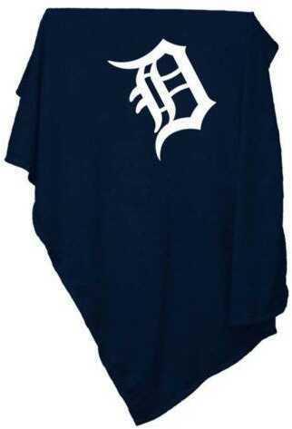 Logo Chair Detroit Tigers Sweatshirt Blanket