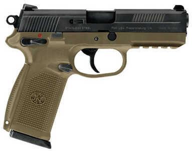 Pistol FNH USA FNS-9 DA Manual Safety Night Sights 9mm Luger Luger 17 Round Flat Dark Earth/Flat Dark Earth 66937