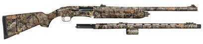 "Mossberg 935 Combo 12 Gauge Shotgun 3.5"" Chamber 4+1 Rounds 24"" Vent Rib /24"" Rifled Barrels Mossy Oak Break Up Camo"