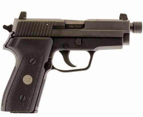 Sig Sauer Pistol SIG P225 9MM 3.6 Night Sights G10 Threaded Barrel 8RD