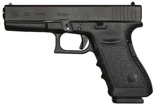 "Pistol Glock 21C 45 ACP 4.60"" Barrel Compensated 13 Rounds Black"