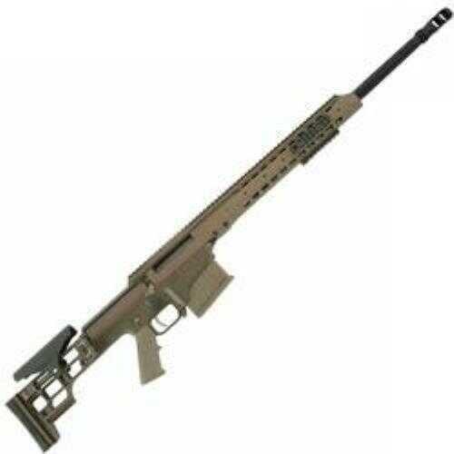 "Barrett Firearms 300 Winchester Magnum 24"" Fluted Barrel 10 Round Flat Dark Earth Tan Cerakote Bolt Action Rifle MRAD"