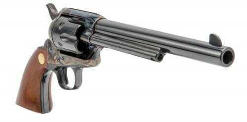 "Cimarron Model P Pre-War SA Revolver 32-20 Winchester 1 Piece Walnut With Gold Medallion 7.5"" Barrel Case Hardened Frame"