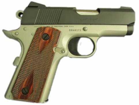 "Pistol COLT Defender 45acp 3"" Barrel Light Carry Black Ion/ CeraKote Stainless"