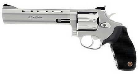 """Taurus M991 Tracker Revolver 22 Magnum 6.5"""" Barrel Stainless Steel 2991069"""