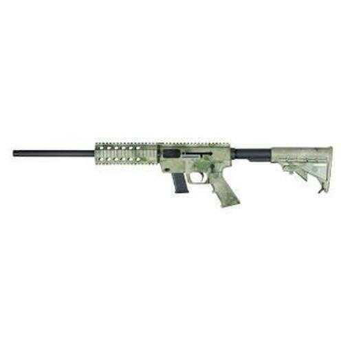 Just Right Carbine Rifle JRC Quad Rail Pistol Caliber Carbine Semi-auto 9mm Luger A-TACS Camo, Glock 17 Rounds Magazines