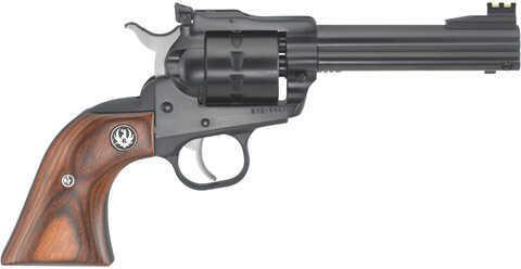 "Ruger Revolver Single Ten 22 Long Rifle 4-5/8"" Barrel Adjustable Sights Hardwood Gunfighter Grip 8102"