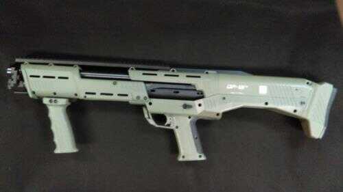 "Standard Manufacturing DP-12 12 Gauge Shotgun 18"" Barrels 3"" Chambers Double Barrel Pump OD Green Stock"