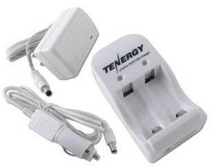 Fenix Wholesale Tenergy RCR123 Charger 01207, White 1207