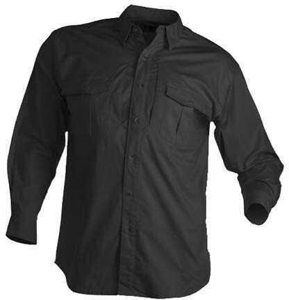 Browning Tactical Long Sleeve Shirt, Black Large 3013859903
