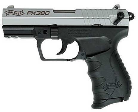 "Walther PK380 Nickle 380 ACP 3.6""Barrel  Semi Automatic Pistol WAP40002"