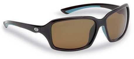 Flying Fisherman Kili Brown Frame-Amber Lens Sunglasses