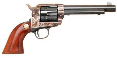 """Cimarron Model P Pre-War SA Revolver 45 Colt/45 ACP Dual Cylinder 5.5"""" Barrel Case Hardened Frame"""