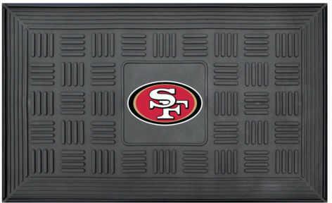 Fanmats Medallion Door Mat Nfl - San Francisco 49ers
