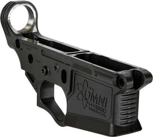 American Tactical Imports Lower Reveiver ATI AR-15 Milsport Aluminum Stripped Multi-Cal Low Black