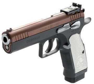 "European American Armory EAA Tanfoglio Witness Stock II Xtreme Pistol, 9mm 4.5"" Barrel, 17-Round Magazine Capacity, Aluminum"