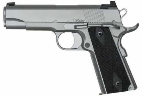 "Pistol Dan Wesson VALOR COMMANDER 45ACP Stainless Steel 4.25"" Barrel 2 DOT NS 8RD"